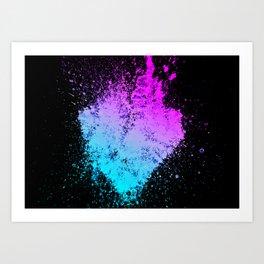 Heartred Art Print