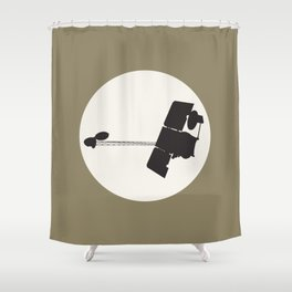 2001 Mars Odyssey Shower Curtain
