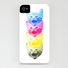 CMYKat iPhone (4, 4s) Slim Case