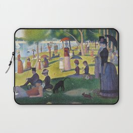 A Sunday on La Grande Jatte by Georges Seurat, 1884 Laptop Sleeve