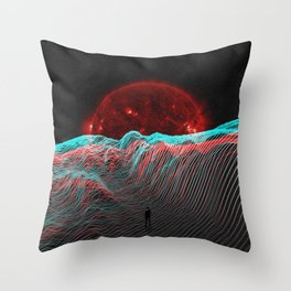 I dreamt of days gone by Throw Pillow