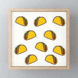 Tacos Framed Mini Art Print