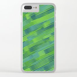 Line forest Clear iPhone Case