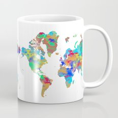 World Map 4 Mug