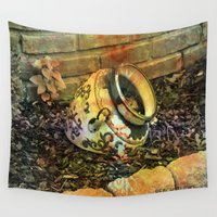 cracked Wall Tapestries featuring Cracked by BeachStudio