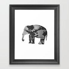 Elephant (The  Living Things Series)  Framed Art Print