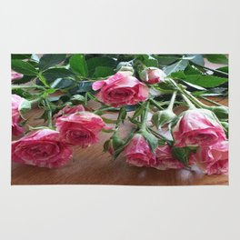 ROSES ARE LOVE Rug