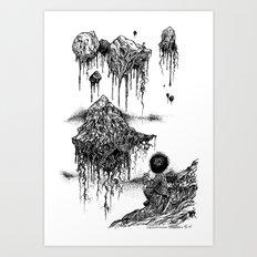 Floaters Art Print