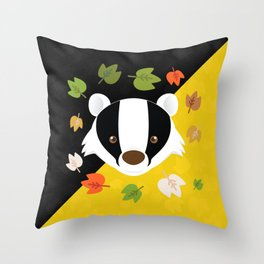 The Badger of Loyalty (Limited 2018) Throw Pillow
