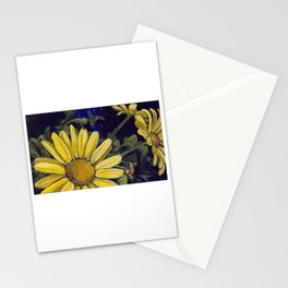 Royal Yellow Gerbera Daisies Stationery Cards