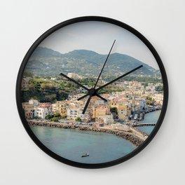 Ischia Italy Overlook Wall Clock