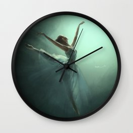 Dancing in the Light Wall Clock