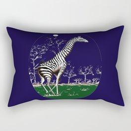 Girafe à la nuit Rectangular Pillow