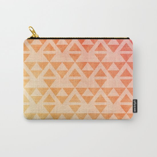 Aztec Pattern 11 Carry-All Pouch
