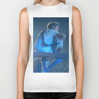 niall horan Biker Tanks featuring Niall Horan 3 by Halle