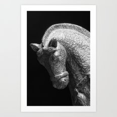 Ornamental Horse Art Print