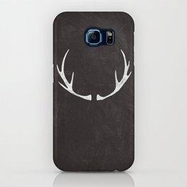 Chalkboard Art - Antlers iPhone Case