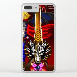 Fusion Keyblade Guitar #45 - Fenrir & End of Pain Clear iPhone Case