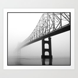 Savanna-Sabula bridge - 2 Art Print