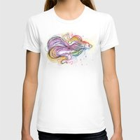 fish T-shirts featuring Fish  by Olechka