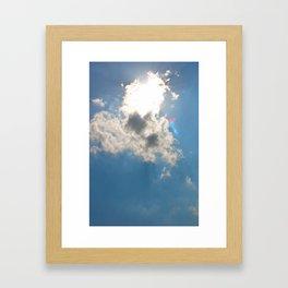 In a Flash Framed Art Print