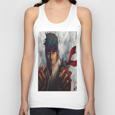 Ryu Focused  Unisex Tank Top