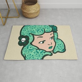 Girl Power Lucky Lotus Rug