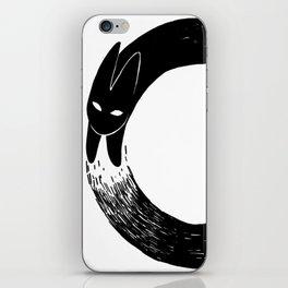 The Black Rabbit iPhone Skin