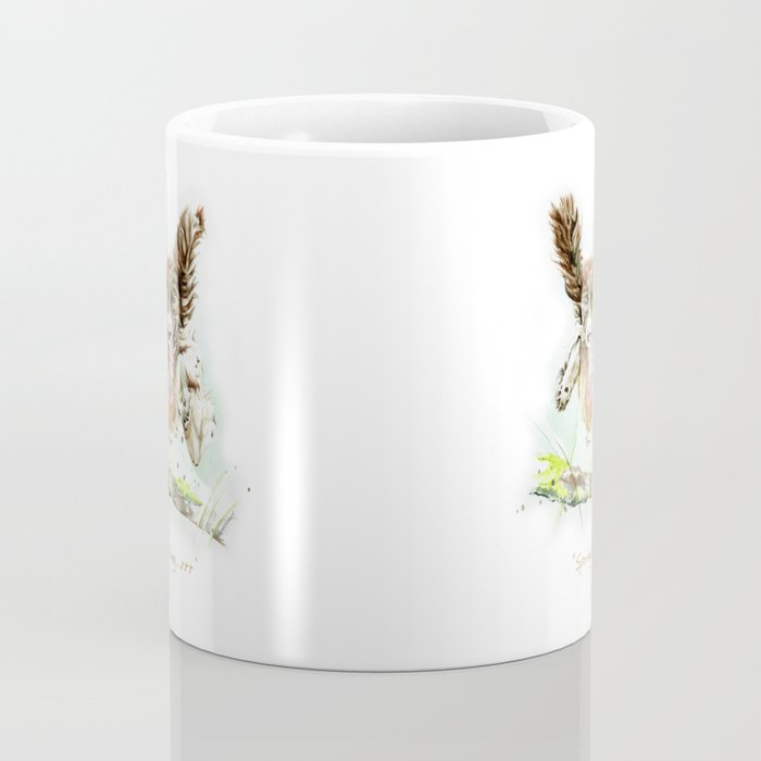 Springing Spaniel Coffee Mug
