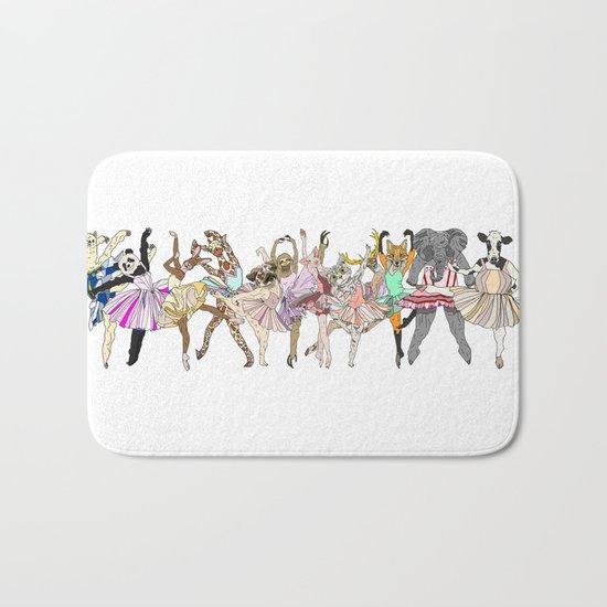 Animal Ballet Hipsters LV Bath Mat