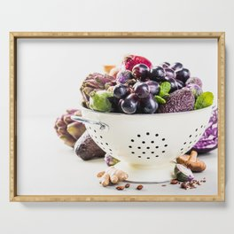 healthy food Serving Tray