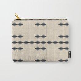 Diamond Stripes Carry-All Pouch