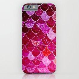 PINK  MERMAID iPhone Case