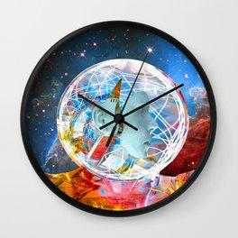 Star Robot Wall Clock