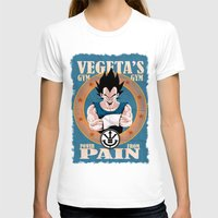dbz T-shirts featuring DBZ workout I by Raul Hinojosa