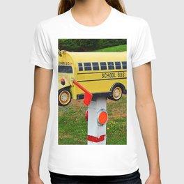 School Bus Mailbox T-shirt