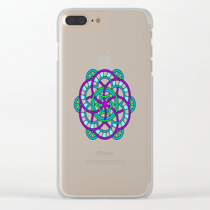 Celtic | Colorful | Mandala Clear iPhone Case
