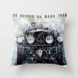 Le Mans 1930 Throw Pillow