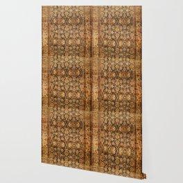Antique Persian Malayer Rug Print Wallpaper