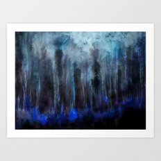 Forest of soul Art Print