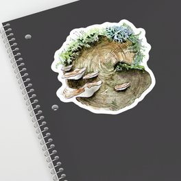 Mossy Log Sticker