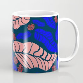 Bright bold floral designs for fashion and home Coffee Mug