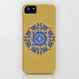 Ottoman Floral Art iPhone Case