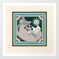 Welcome To Lullaby Art Print
