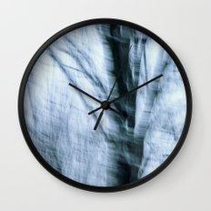Winter Wind Wall Clock