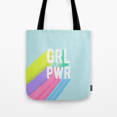 GRL PWR x Blue Tote Bag