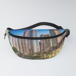 Lights, steel and glass Fanny Pack