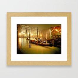 canale grande Framed Art Print