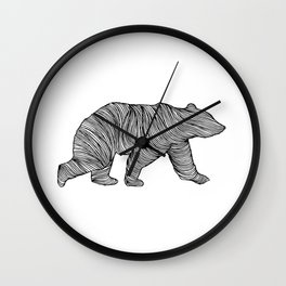 THE BEAR Wall Clock
