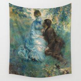 """Auguste Renoir """"Lovers"""" Wall Tapestry"""